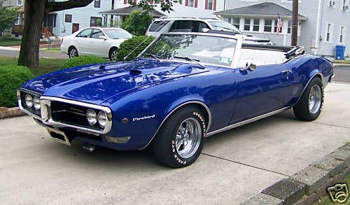 1968 Pontiac Firebird – Pictures