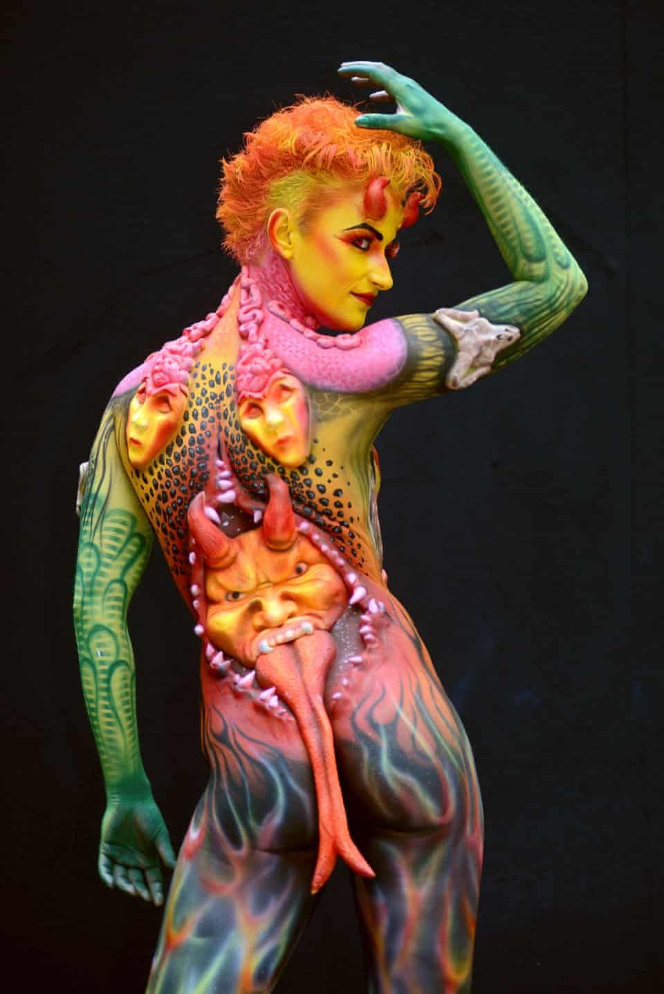 Body Painting Festival In Austria In Pictures Culture The Guardian In 2020 Bodypainting Festival World Bodypainting Festival Korperbemalung
