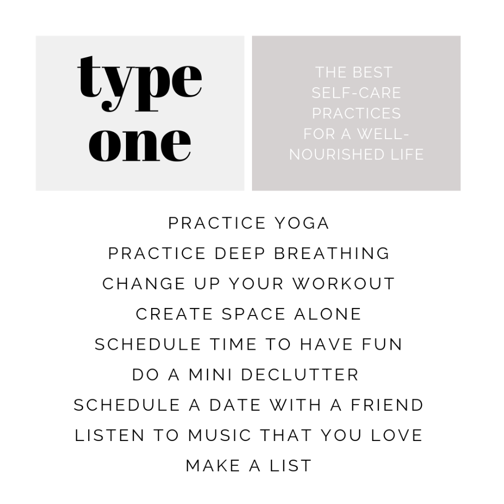 Health Tips for Enneagram Type One - Simple Roots