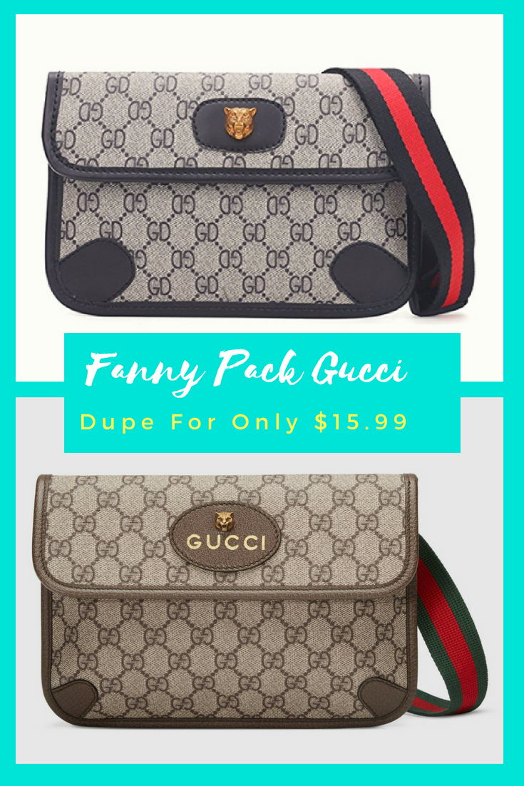 6bdfd0c09 The Best Fanny Pack Gucci Dupe For Only  15.99 Are you looking for a Gucci  fannypack