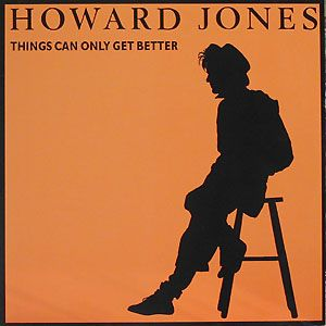 "Howard Jones - ""Things Can Only Get Better"" / ""What Is Love?"" / ""New Song"" - 12"" single, 1985."