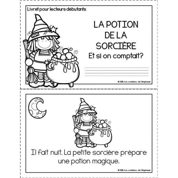 Lecteurs d butants la potion de la sorci re cycle2 lecteurs d butants jeux halloween - Jeux de sorciere potion magique gratuit ...