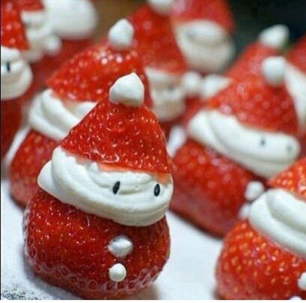 christmas dessert so cute