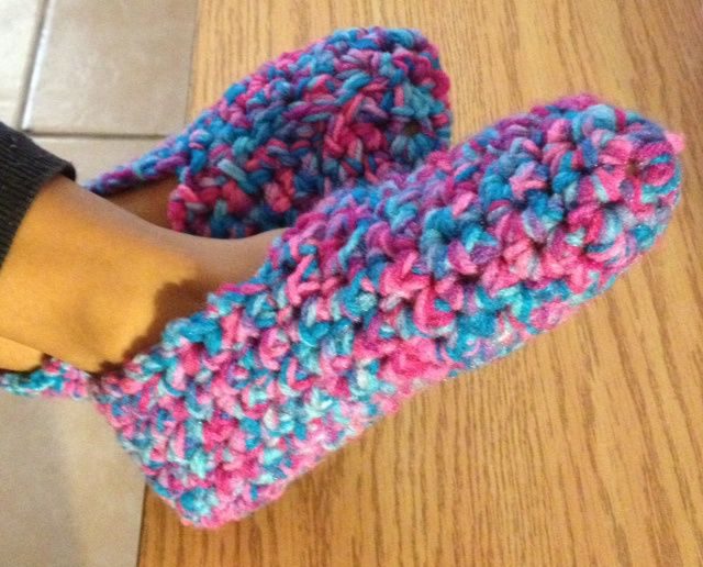 Double Strand Crochet Slippers Hooking Is A Lifestyle Slippers