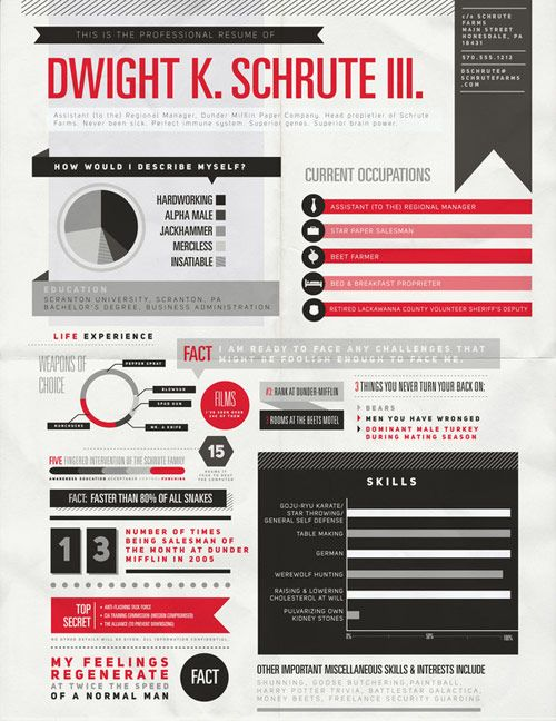 30 great examples of creative cv resume design infographic resume template