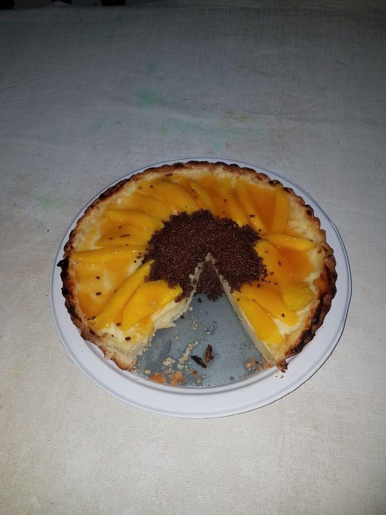 Sunflower tart
