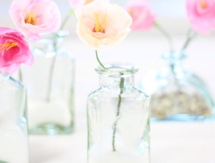 Comment Creer Une Fleur En Papier Crepon Fleurs En Papier