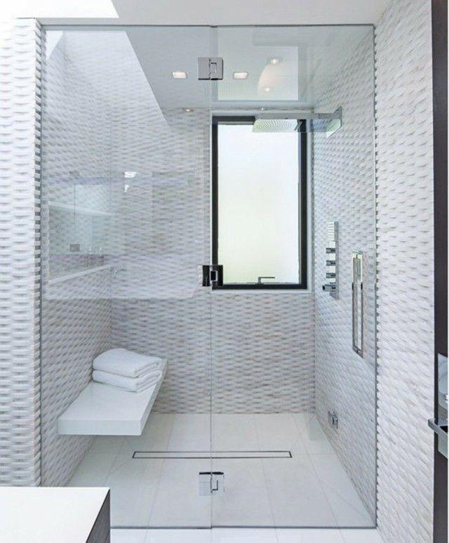 Douche à l\'italienne : 31 exemples salles de bain italienne