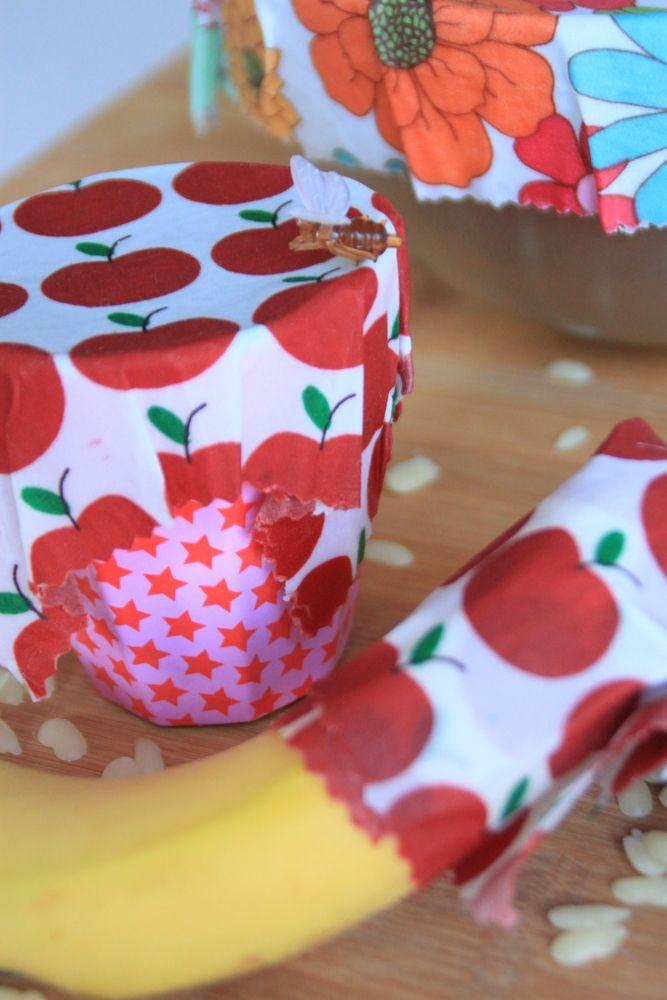 DIY-Bienenwachstuch selber machen: Eine echte Alternative zu Alufolie und Co. ⋆ Mamahoch2 #diyundselbermachen