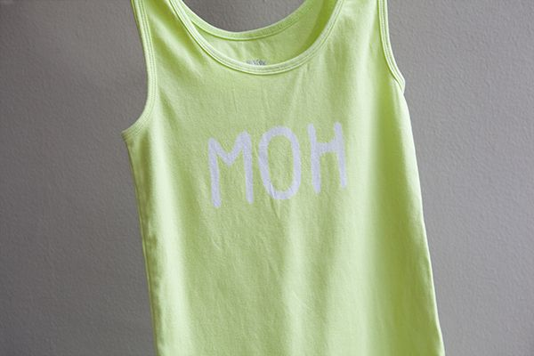 DIY | bleach bride t-shirt » Something Turquoise {daily bridal inspiration}
