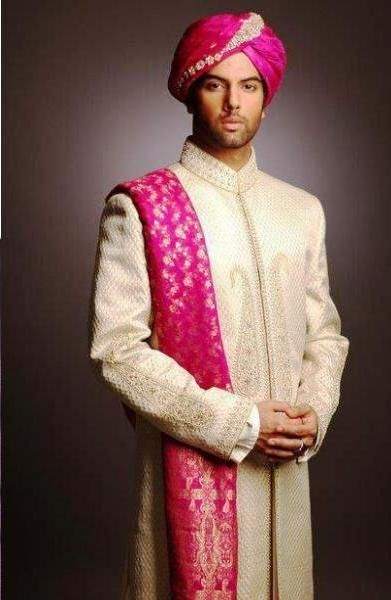 New indian groom wedding wear dresses 2013 for men 004 for Wedding dress shirts for groom