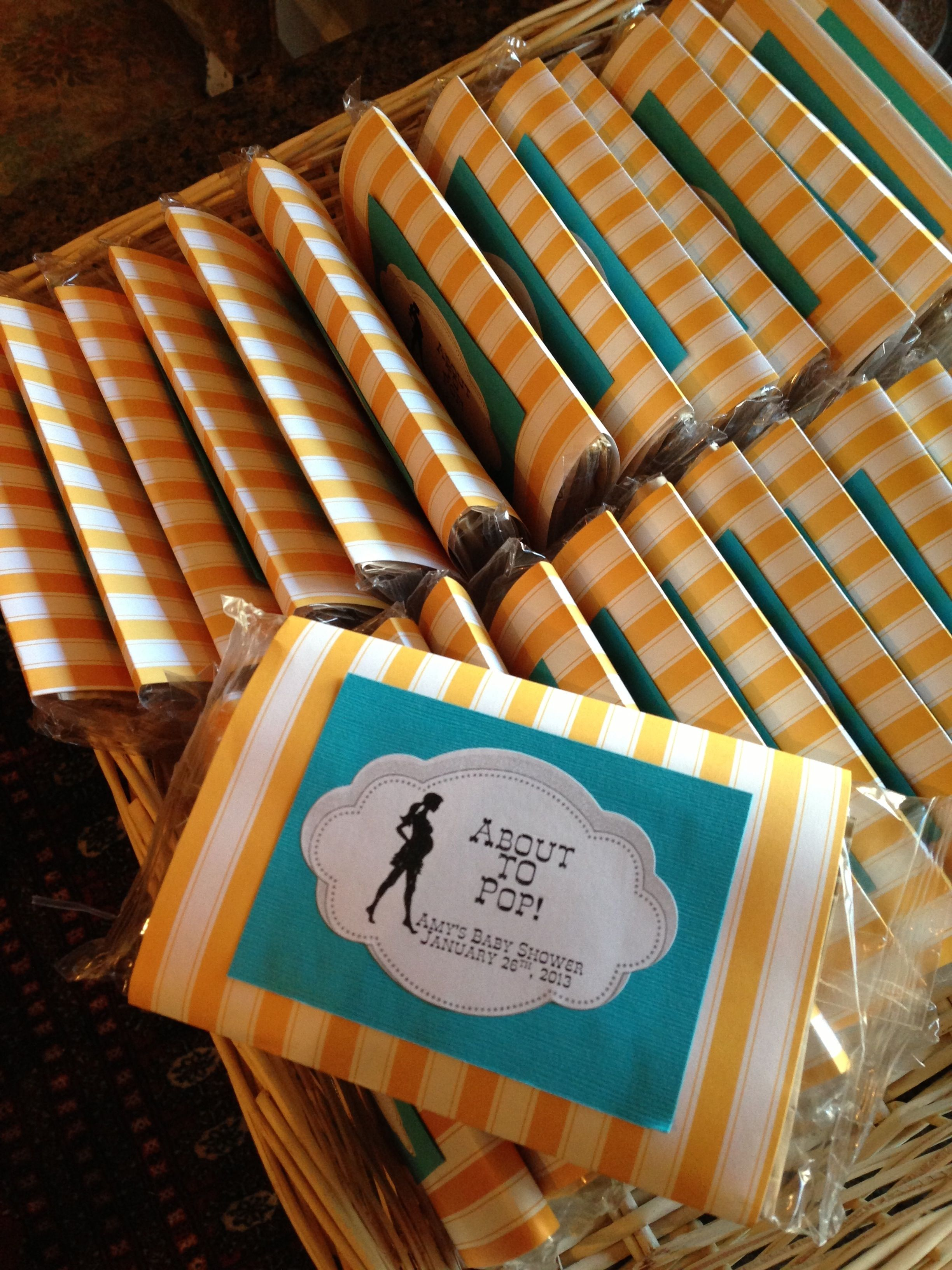 Most baby showers are hosted right around lunch time which can leave - Baby Shower Prizes