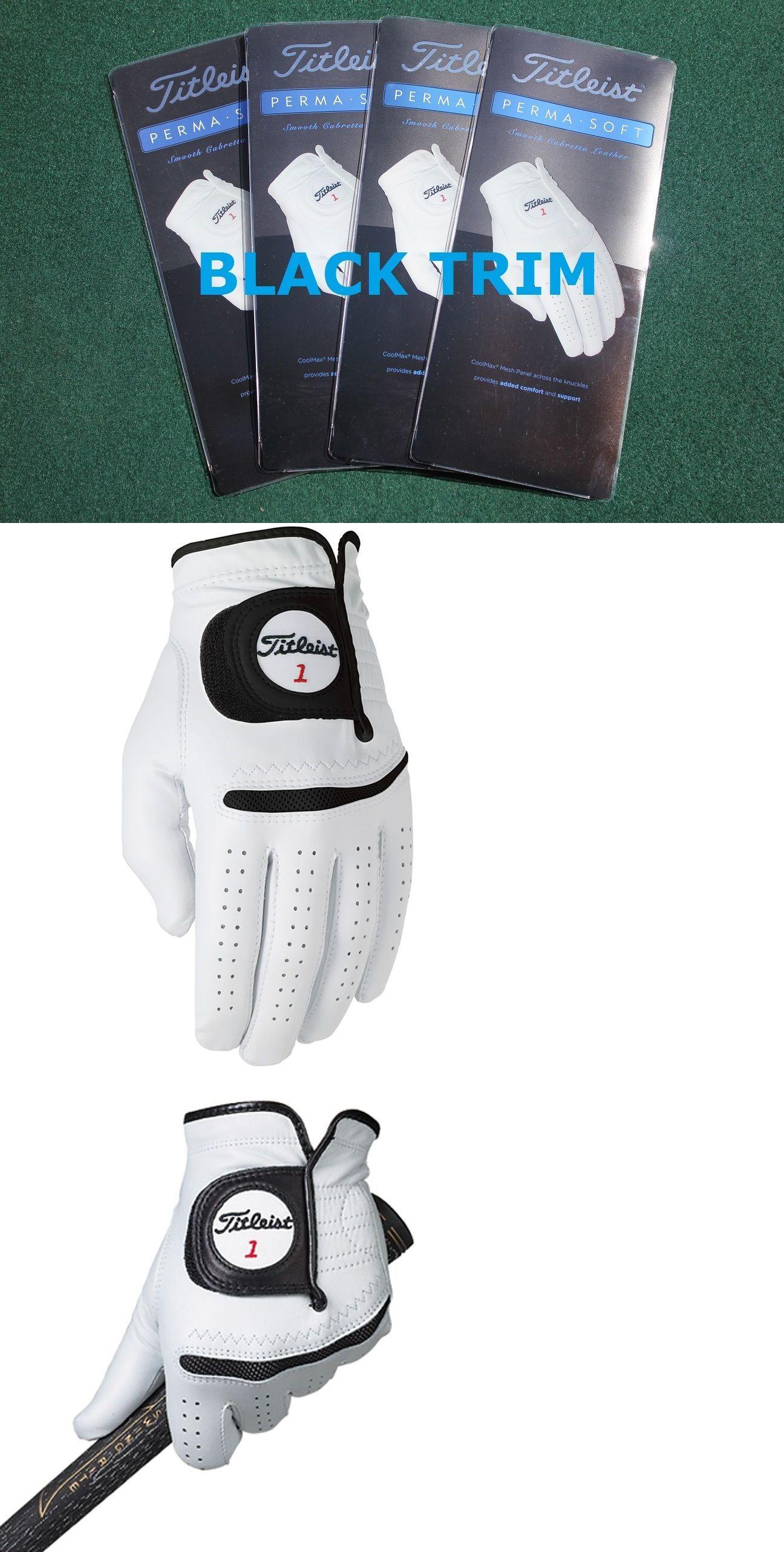 Mens gloves cadet - Golf Gloves 181135 4 New Titleist Perma Soft Golf Gloves Mens Cadet Large W