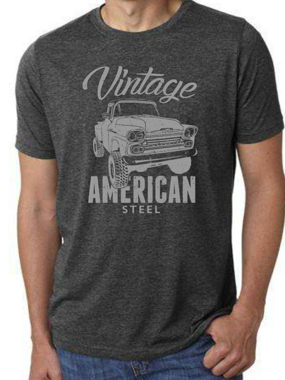 Mens T-Shirt Ideal Gift or Birthday Present. Old GMC Truck