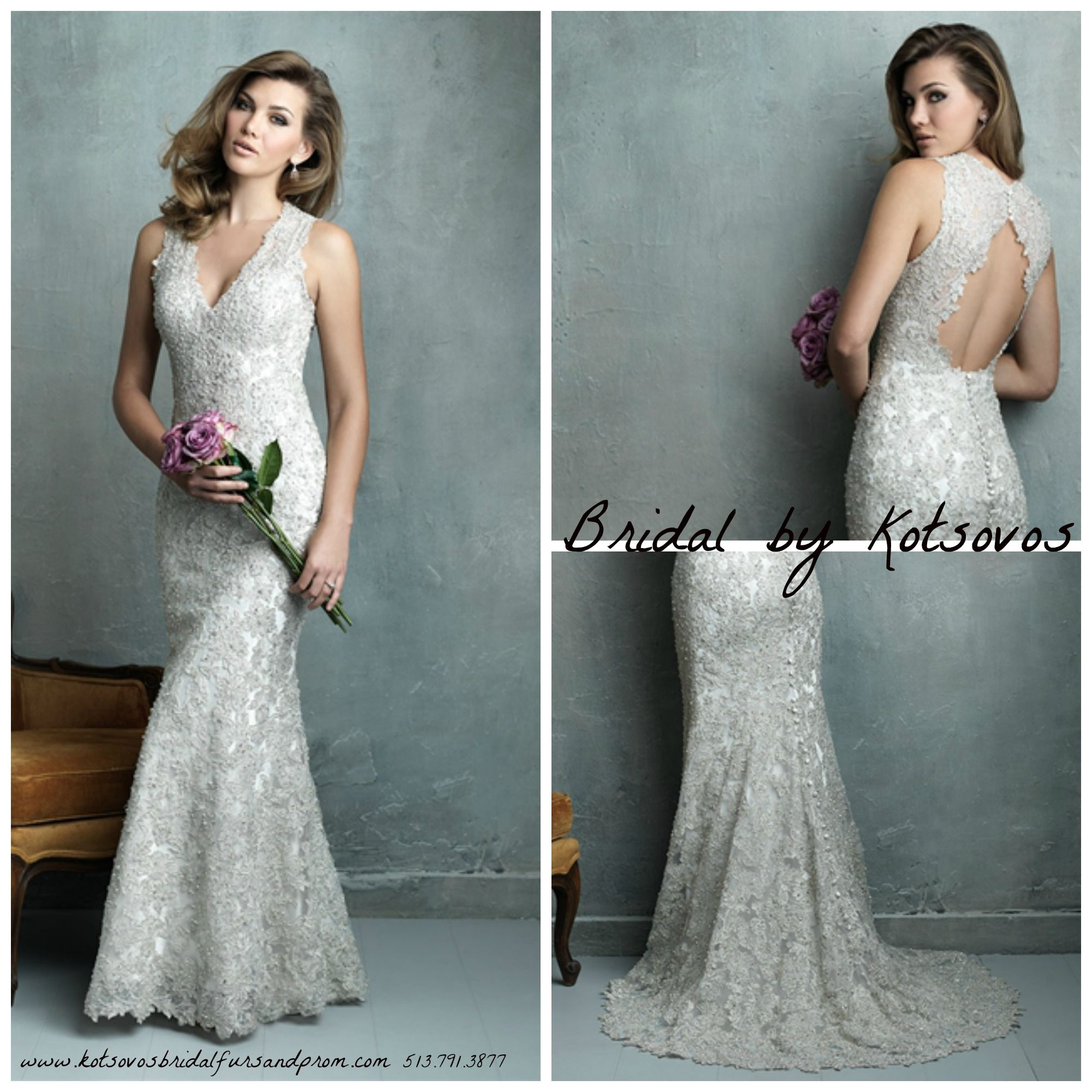 This show-stopping ornate gown is perfect for the bride wanting a ...