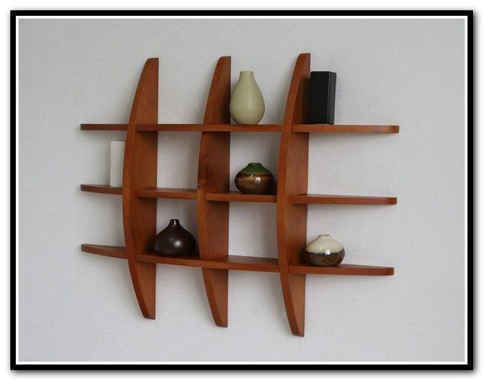 Wall Mounted Display Shelves Collectibles