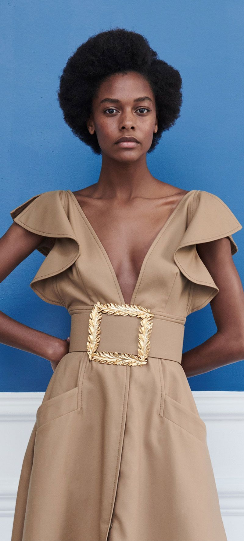 Oscar de la Renta Resort 2019 - Fashion designer , 2019 fashion, womenwear 2019 #fashion