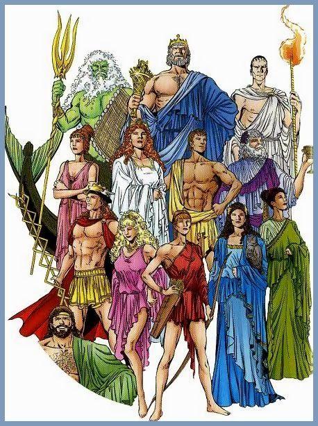 Mitologia Grega Deuses Maiores Mitologia Grega Mitologia Grega