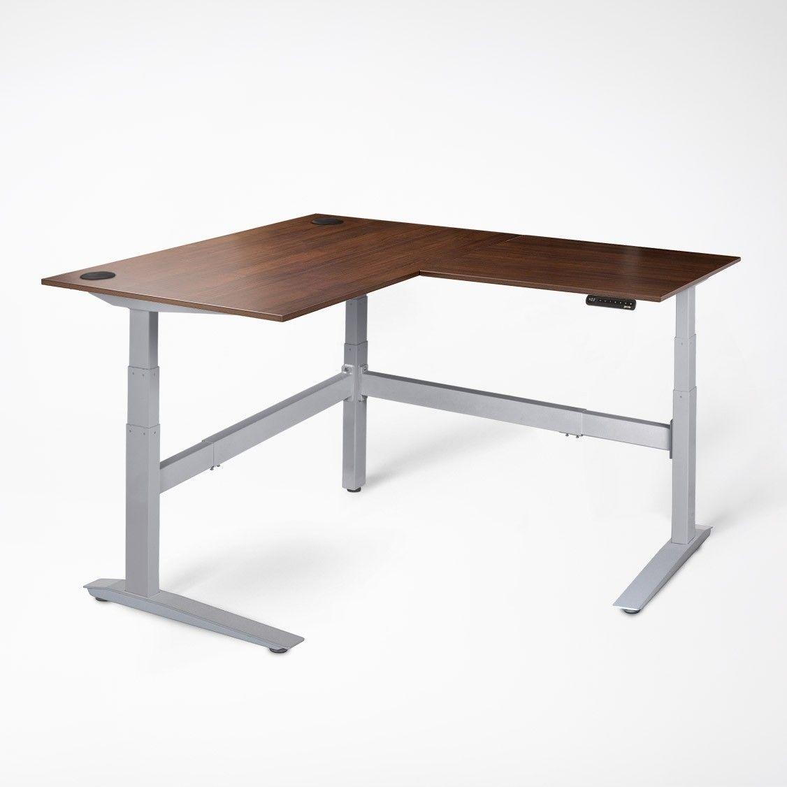 Jarvis L Shaped Standing Desk Desk Work Desk Decor Standing Desk