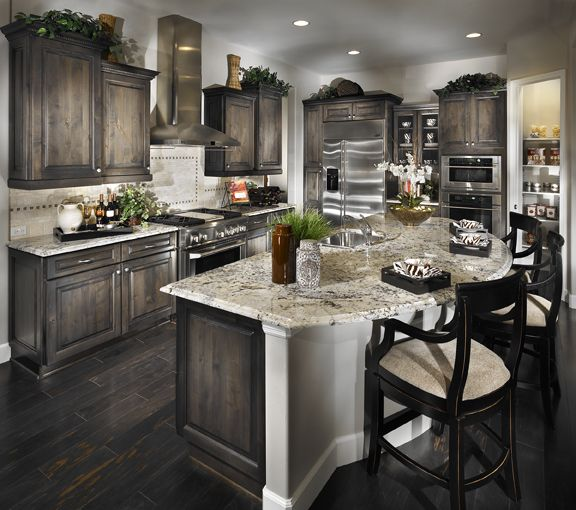 Don't You Just Love The Dark Cabinetry With The Light