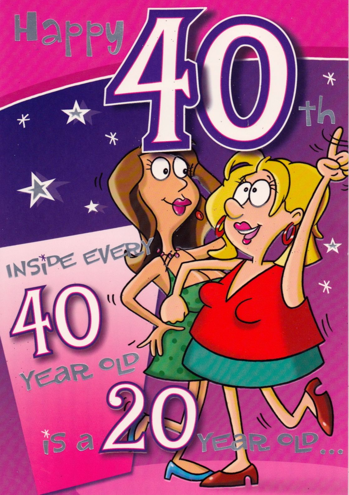 Ideas For Her 40th Birthday Happy Greeting Messages Cousin Quotes – 40th Birthday Sayings for Cards