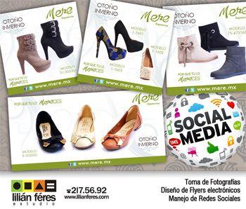 Manejo de Redes Sociales #socialmedia para Mere Zapaterías