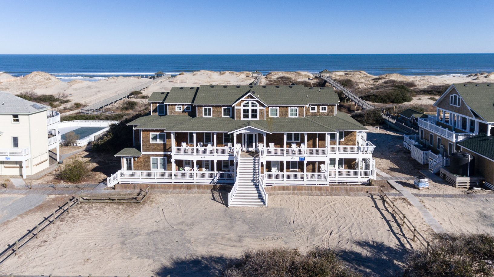 The Hemingway Outer Banks Vacation Oceanfront Vacation Rentals Beach Vacation Rentals