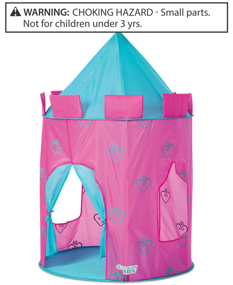 Discovery Kids Toy Girls Pop Up Castle Play Tent Girls Pinterest