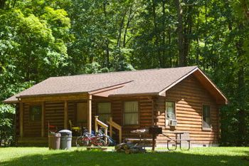 This Modern Log Cabin Can Be Rented At Pymatuning State Park