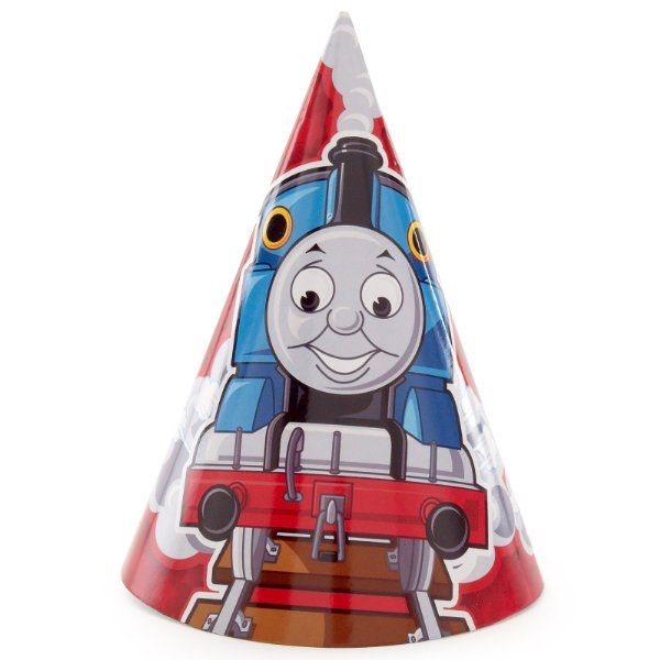 Thomas the Tank Engine Cone Hats (8) Party Supplies:Amazon:Toys & Games