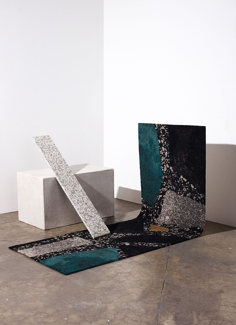 Wall To Wall Carpeting Inspired By Architectural Jewelry Yes You Heard That Right Sight Unseen Glass Art Installation Carpet Installation Architectural Jewelry