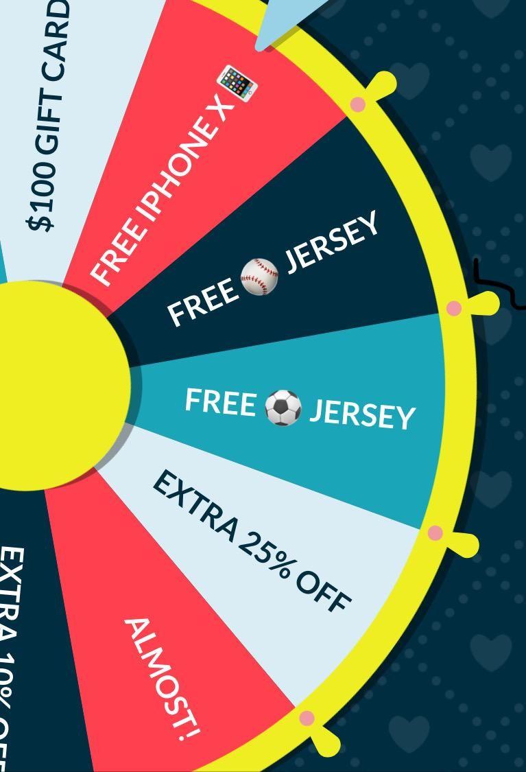 Go Spin The Wheel by going to and WIN a