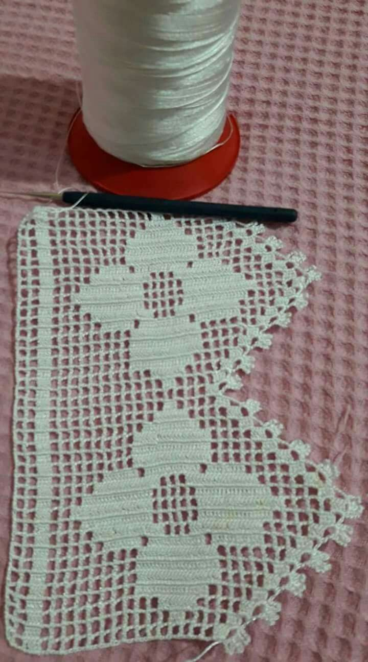 Pin By Sunaclk On Dantelpike Pinterest Crochet Crochet Edging