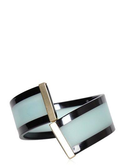 emporio armani resin bracelet luisaviaroma luxury