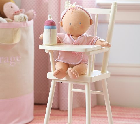 pottery barn kids doll high chair top rated booster seats on the