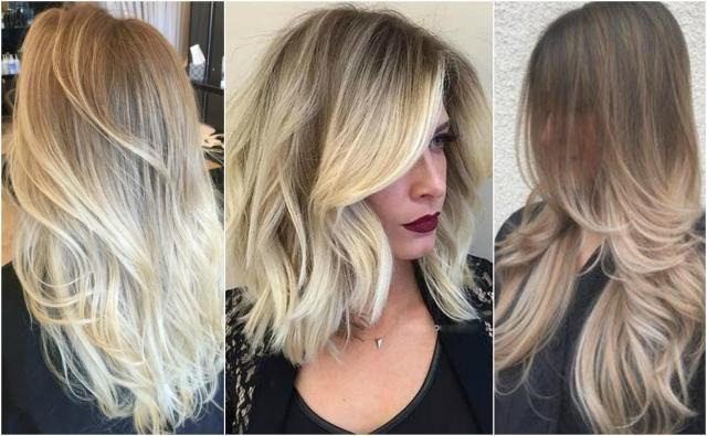 17 Pomysłów Na Włosy Ombre Blond Włosy Włosy Blond