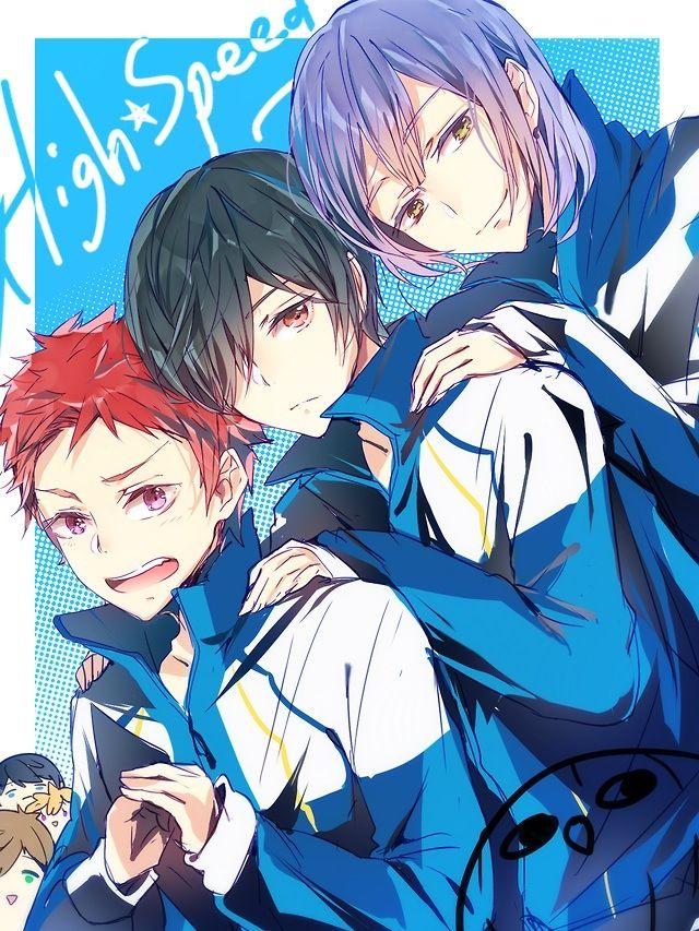 Free!, High Speed!, light novel, cuties, Kurishima Ikuya