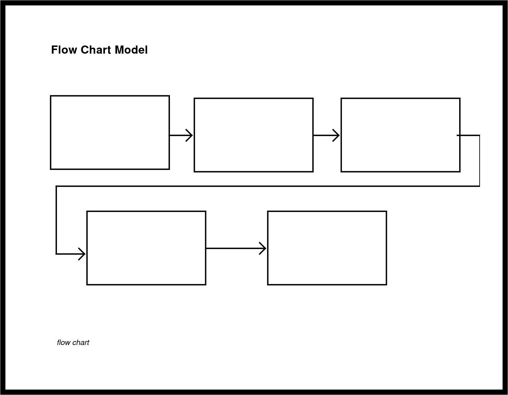 50 Flow Diagram Template Word Uu7r Di