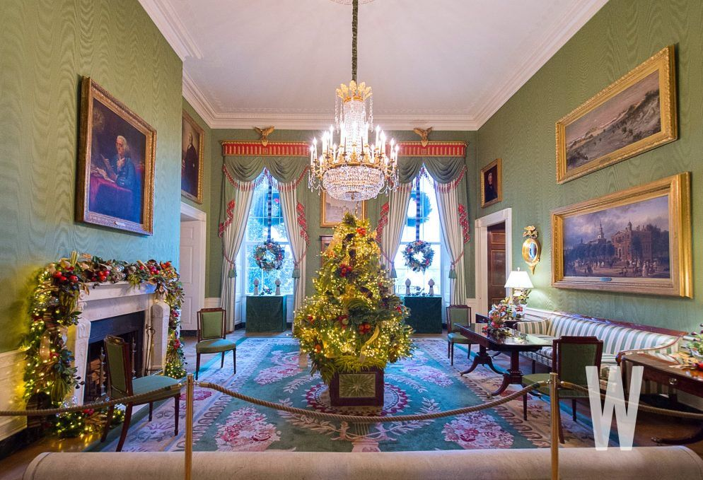 PHOTOS The 2018 White House Christmas Decorations cats world
