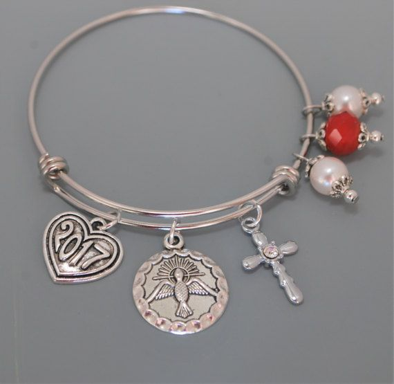 S Confirmation Bracelet By Susanserdargallery