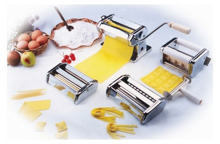 Cucinapro pasta fresh series manual pasta maker with 3