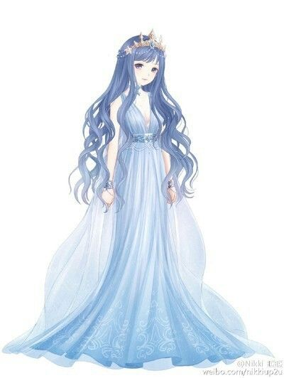 Aresia Goddess of the Ocean | character inspiration | Pinterest | Goddesses Ocean and Anime
