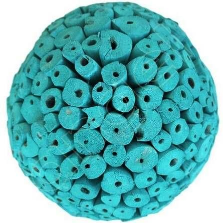 Green Decorative Balls Alluring Tuscan Teal Large Decorative Ballsangel Aromatics  Available Review