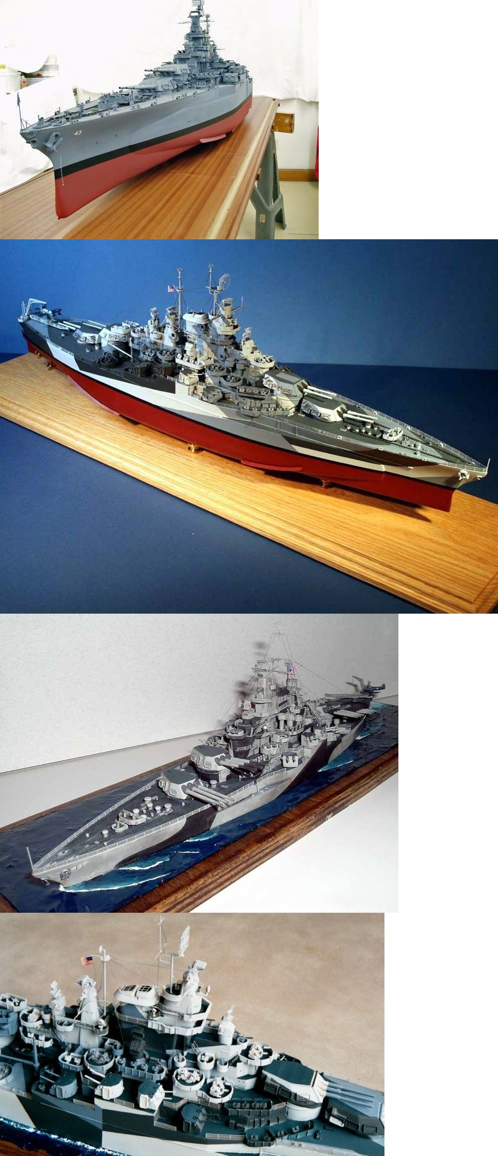 Other Boat Ship Models and Kits 4248 1 350 Uss Tennessee