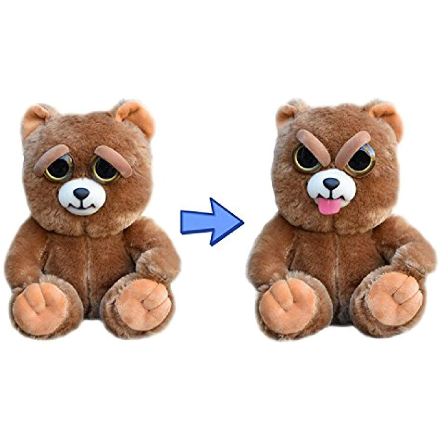 Feisty Pets Expressions Silly Sir Growls A Lot The Bear Sticks His Tongue Out Learn More By Visiting The Imag Animal Plush Toys Plush Toys Animals