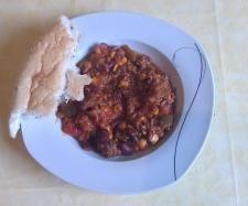 Rezept Chili con Carne (mein Partyrezept) von Hadouni - Rezept der Kategorie Hauptgerichte mit Fleisch