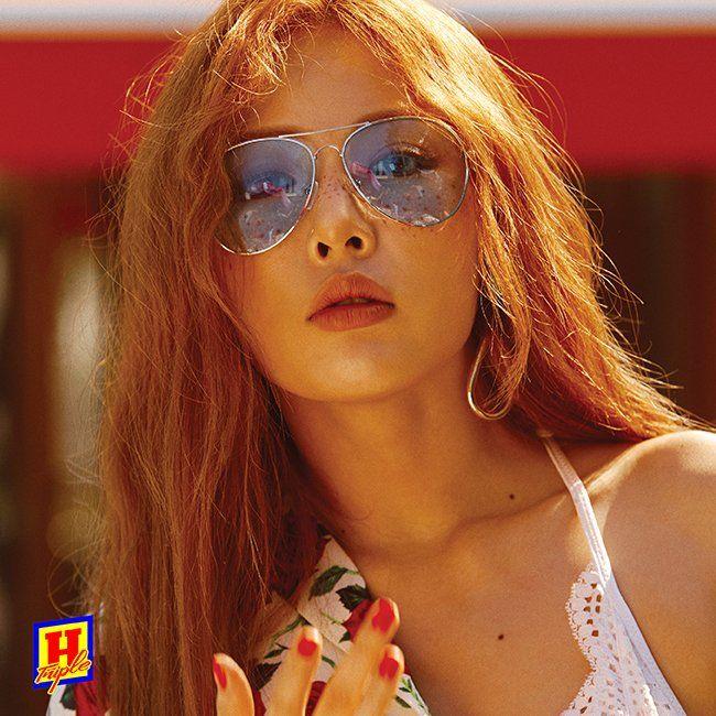 triple h teaser image, hyun a triple h, triple h kpop profile, triple h members, triple h ceci, hyuna ceci 2017, hyuna photoshoot 2017, hyuna sexy photo 2017, cube new unit