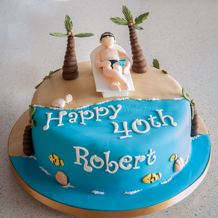 Cakes for Men and older boys the Cake Works cake maker for