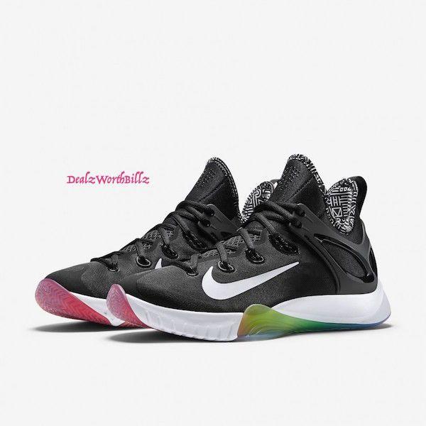 huge selection of 4b170 e4c8d ... hot men shoes nike zoom hyperrev ds 2015 lmtd be true black rainbow  size 9 rare