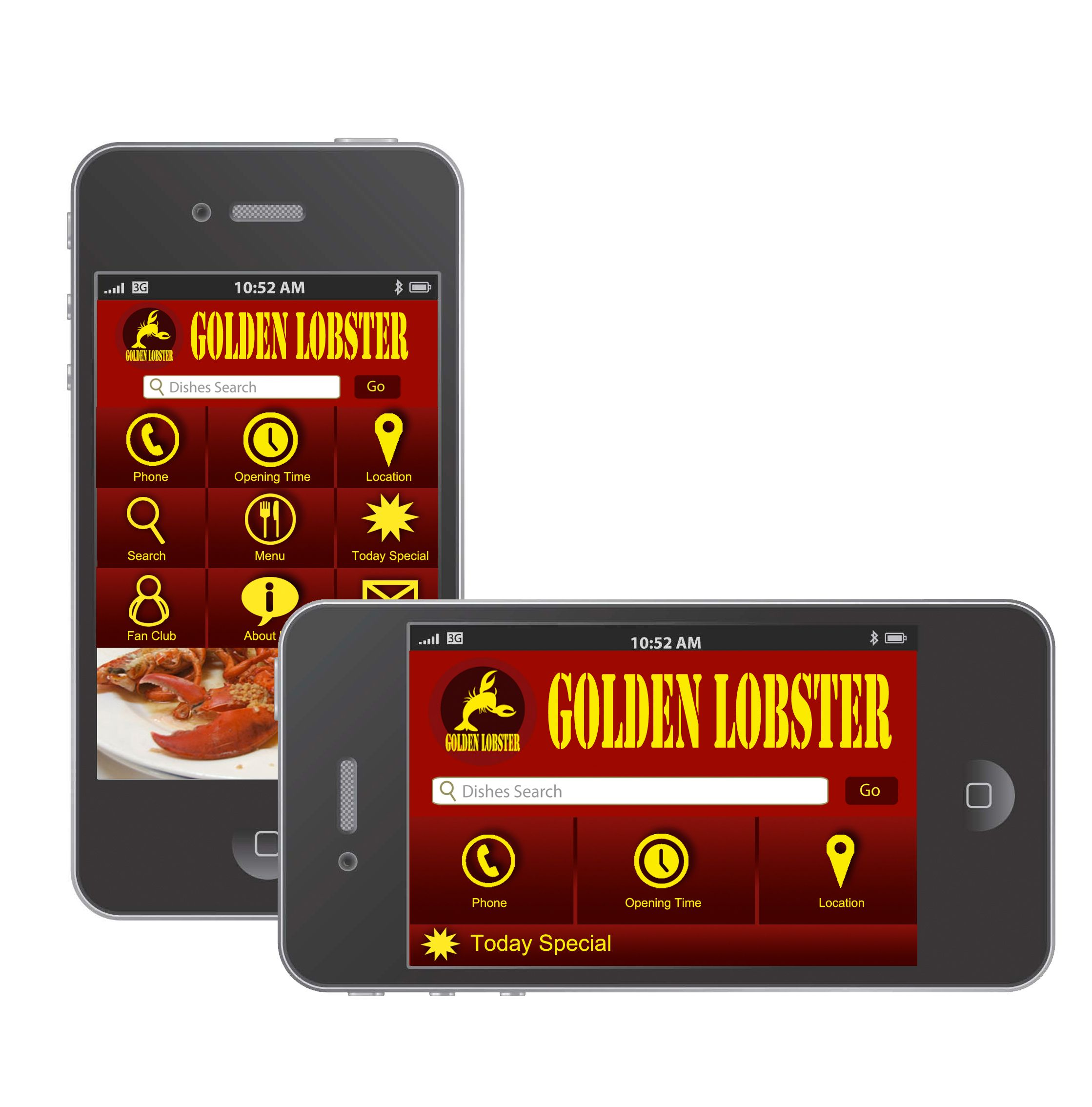 The app that restaurant is going use